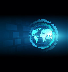 Best internet concept of global business globe vector