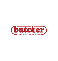 Butcher logo vector
