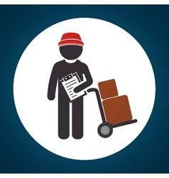 Delivery service design vector