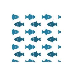 fish icon design template vector image