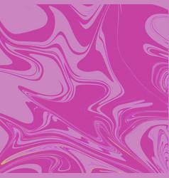 Flamingo pink liquid marble background vector