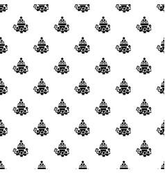 house door pattern seamless vector image