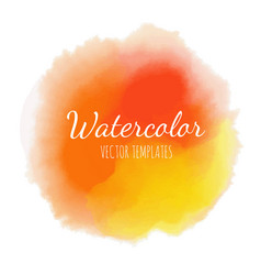 set of watercolor background 17 vector image