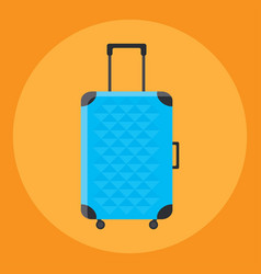 travel bag isolated vector image
