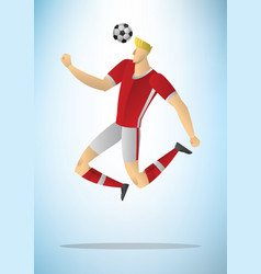 football player 16 vector image vector image