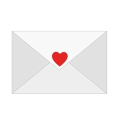 message email love romantic emotions design vector image