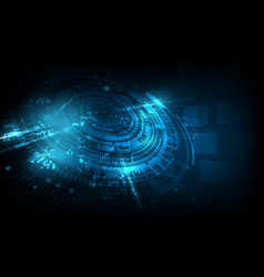 Abstract futuristic background technology sci fi vector