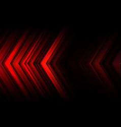 abstract red light line arrow speed direction vector image
