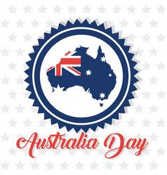 australia day design vector image