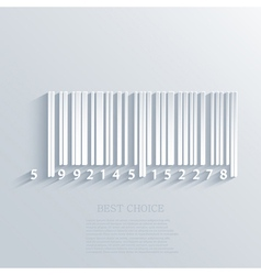 bar code background Eps10 vector image