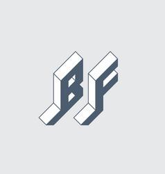Bf - international 2-letter code or national vector