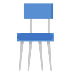 Business with china furniture blue chair vector