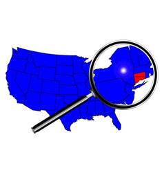 Connecticut vector