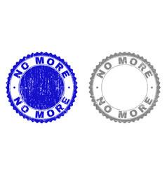 grunge no more scratched stamp seals vector image