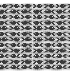 Little fish imitation knitted fabric jacquard vector
