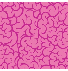 Pink guts vector image