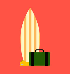 Sea surfing pattern with different type surf vector