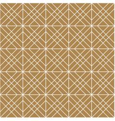 Seamless geometric pattern in golden vector