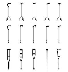 sticks vector image