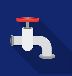 Tap icon in flate style isolated on white vector