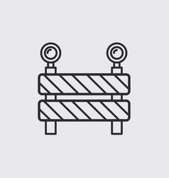Under construction icon vector