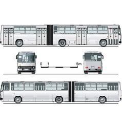 Urban bus vector