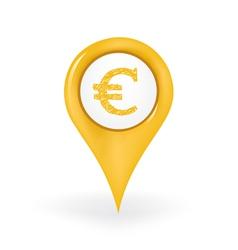 Euro Location vector image