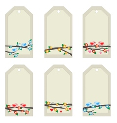 light tags vector image