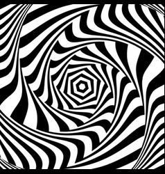 vortex movement vector image vector image