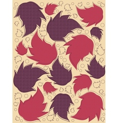 wallpapers flora vector image