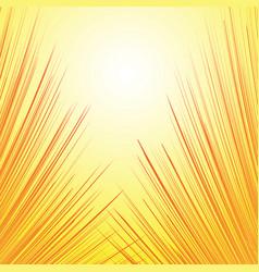 superhero frame comic book radial lines vector image
