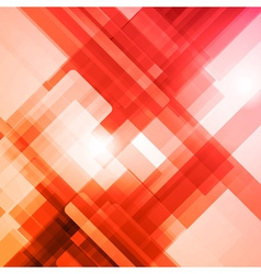 Abstract technology futuristic red lines backgroun vector