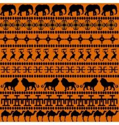 African symbols vector image