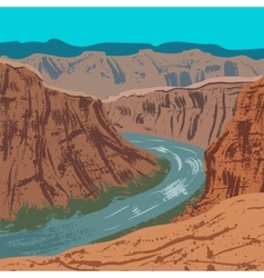Grand Canyon National Park vector