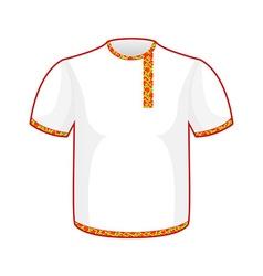 Russian folk mens T-shirt Traditional ancient vector