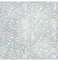 Silver Glitter Background - seamless texture vector