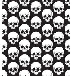 Skull pattern 2 vector