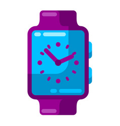 smart watch stylized icon for vector image
