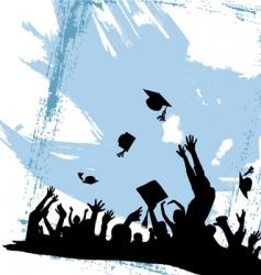 graduation party vector image