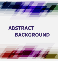 abstract dark tone geometric overlapping vector image vector image