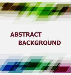 abstract dark tone geometric overlapping design vector image