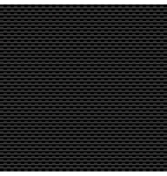 Black carbon background eps10 vector image