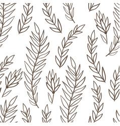 doodle pattern vector image