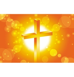 Easter jesus cross background 1 vector