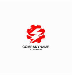 energy logo design eps 10 vector image