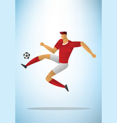 football player 22 vector image