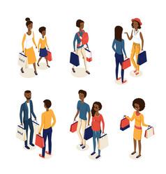 Isometric online shopping 2 vector