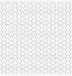 light gray glowing geometric seamless pattern vector image