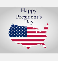 President s day in united states vector