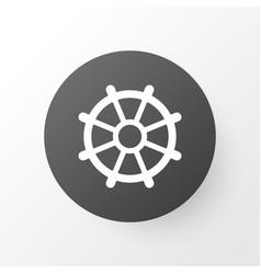 Rudder icon symbol premium quality isolated boat vector